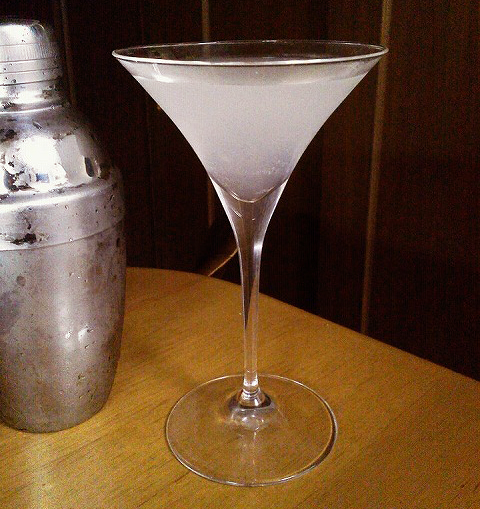 vintage white lady cocktail